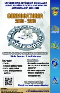 CONVOCATORIA 2018 2019 TUTORIAS ASESORESPARES