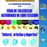 CARTEL CONVOCATORIA CULTURAL DEPORTIVO-TUTORIAS