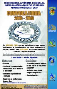 CONVOCATORIA ASESORESPARES CAMPUS I 2018