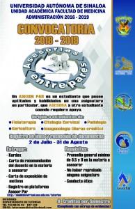 CONVOCATORIA ASESORESPARES CAMPUS II 2018