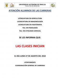 AVISO INICIO DE CLASES-1