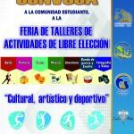 CARTEL CONVOCATORIA CULTURAL DEPORTIVO-TUTORIAS 2019
