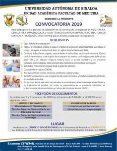 Convocatoria Carreras Campus 2019