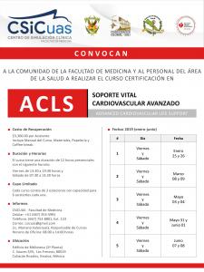 Convocatoria ACLS 2019-1