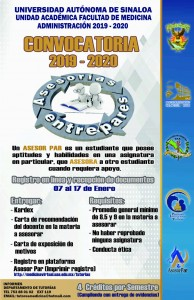 CONVOCATORIA ASESORESPARES CAMPUS II  2020