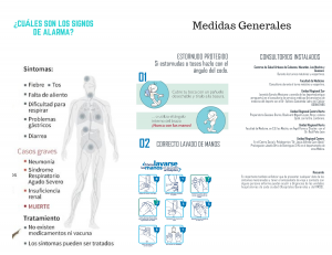 Triptico Medidas preventivas vs influenza Reverso